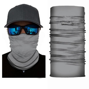 Grey Bandanna Face Shield