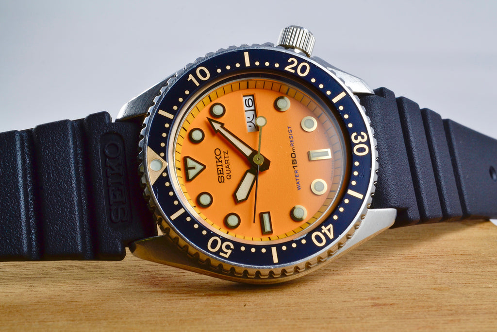 Seiko Diver 6458 Orange de 1981 - LumeVille