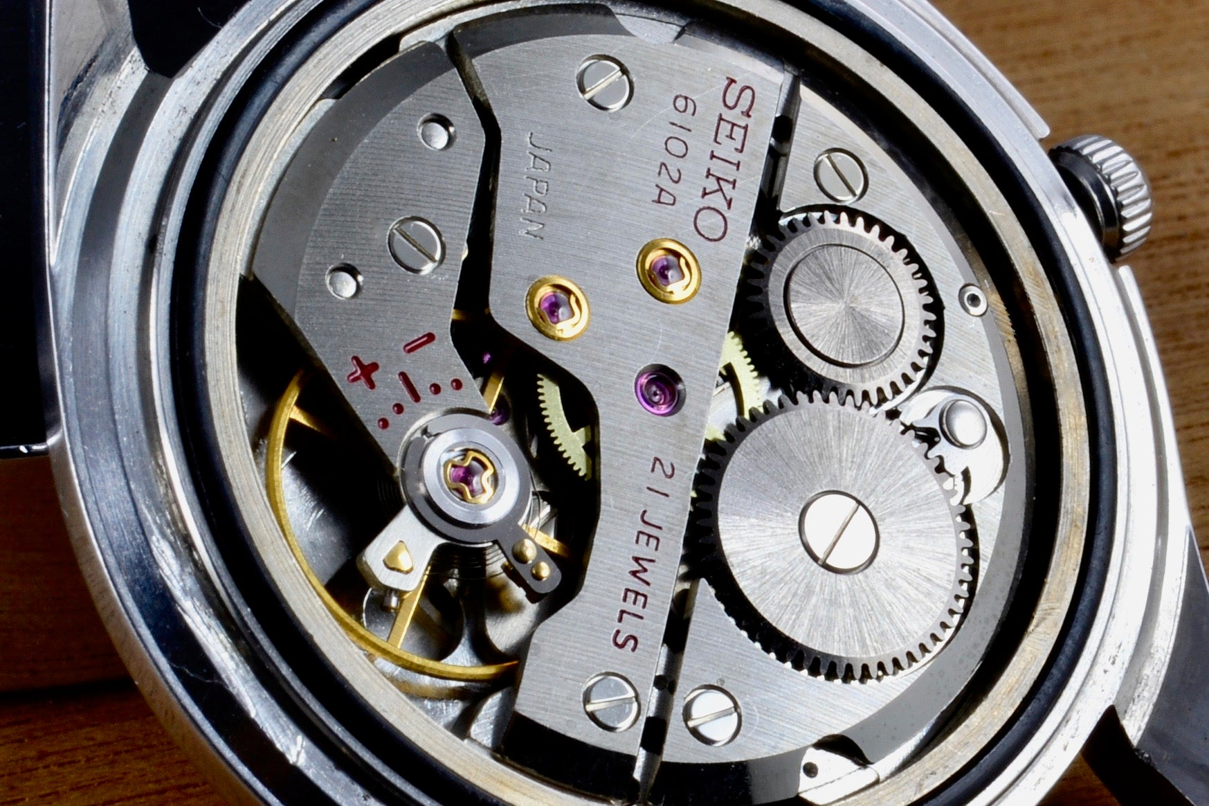 Seiko Skyliner mouvement