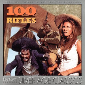100 Rifles - Complete Score  - Limited 3000 Copies - Jerry Goldsmith