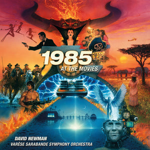 1985 At The Movies - Theme Collection - Limited Edition - Alan Silvestri / Jerry Goldsmith