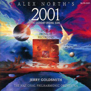 2001 A Space Odessey - Complete Rejected Score - Alex North / Jerry Goldsmith