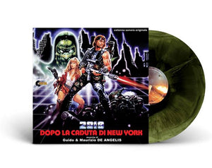 2019 After The Fall Of New York - Complete Score - (Coloured Vinyl) - Limited 500 Copies - Guido De Angelis
