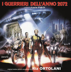 I'Guerrieri Dell'Anno 2072 / House On the Edge Of The Park - 2 x CD Complete Scores - Limited 500 Copies - Riz Ortolani
