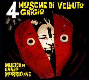 4 Flies On Grey Velvet - Complete Score - Black Vinyl  - Ennio Morricone