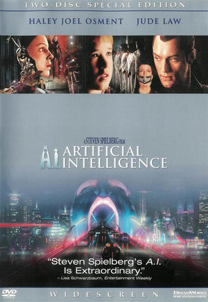 A.I. Artificial Intelligence - 2 Disc DVD - Special Edition - Steven Spielberg