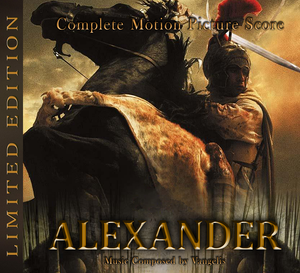 Alexander - 2 x CD Expanded - Limited 1000 Copies - Vangelis