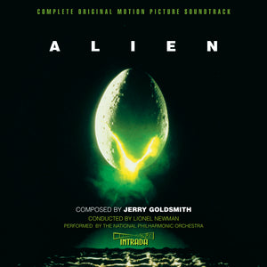 Alien - 2 x CD Complete Rejected Score - Limited Edition - Jerry Goldsmith