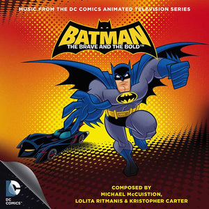 Batman The Brave & The Bold - 2CD Complete Score - Limited 3000 Copies - Kristopher Carter