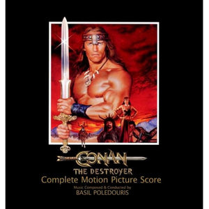 Conan The Destroyer - 2 x CD Complete Score - Limited 500 Copies - Basil Poledouris