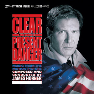 Clear & Present Danger - 2 x CD Complete Score  - James Horner