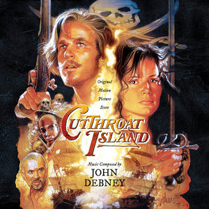 Cutthroat Island - 2 x CD Complete Score - Limited 1500 Copies - John Debney