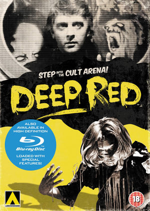 Deep Red - DVD - Uncut - Region 2 - Dario Argento