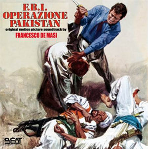 FBI Operazione Pakistan - Complete Score - Limited 500 Copies - Francesco De Masi