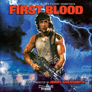 First Blood - 2 x CD Complete Score - Limited Edition - Jerry Goldsmith