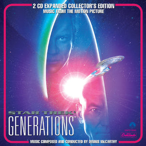 Star Trek Generations - 2 x CD Complete Score - Limited Edition - Dennis McCarthy