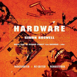 Hardware - 2LP Complete Score - White Vinyl  - Limited Edition - Simon Boswell