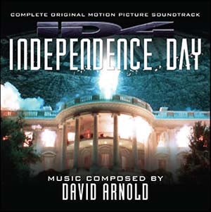 Independence Day - 2 x CD Expanded Score  - David Arnold