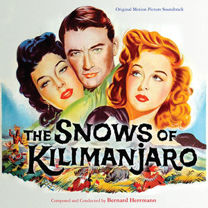 The Snows Of Kilimanjaro - Complete Score - Limited 1000 Copies - Bernard Herrmann