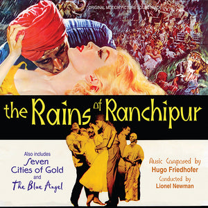 The Rains Of Ranchipur - 2CD Complete Score - Limited 1000 Copies - Hugo Friedhofer