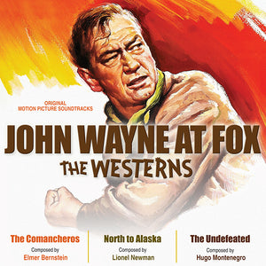 John Wayne At Fox The Westerns - 2CD Complete Scores - Limited 1000 Copies - Elmer Bernstein