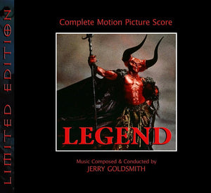 Legend - 2 x CD Complete Score - Limited 1000 Copies - Jerry Goldsmith