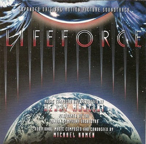 Lifeforce - 2 x CD Expanded Score - Limited Edition - Henry Mancini / Michael Kamen