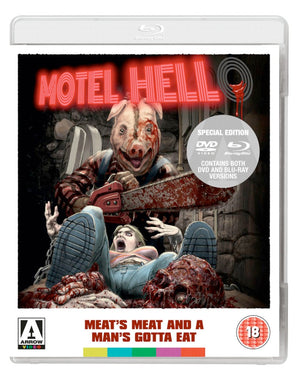 Motel Hell - Blu Ray - (Uncut) - Kevin Connor
