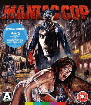 Maniac Cop - 2 Disc Blu-Ray - (Uncut) - Special Edition - William Lustig