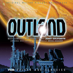 Outland - 2 x CD Expanded Score - Limited 10000 Copies - Jerry Goldsmith