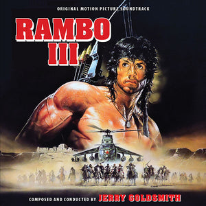 Rambo III - Complete Score - Limited Edition - Jerry Goldsmith