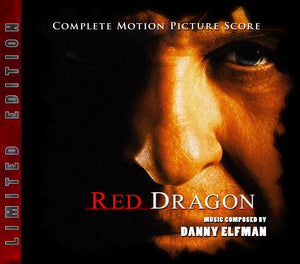 Red Dragon - 2 x CD Complete Score - Limited Edition - Danny Elfman