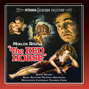 The Red House - 2 x CD Complete Score - Limited Edition - Miklos Rozsa