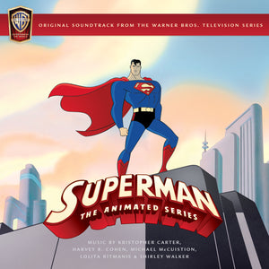 Superman The Series - 4CD Boxset - Limited 3000 Copies - Shirley Walker