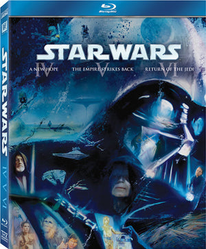Star Wars Episodes IV,V & VI - 3 Disc Blu-Ray - Special Edition - George Lucas