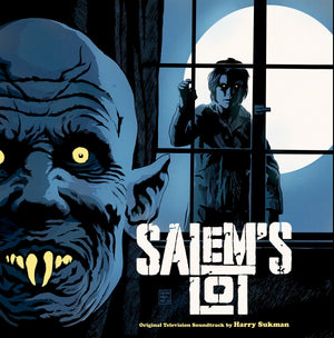 Salem's Lot - 2 x LP Complete Score - (Moonlight Blue) - (SOLD OUT) - Harry Sukman