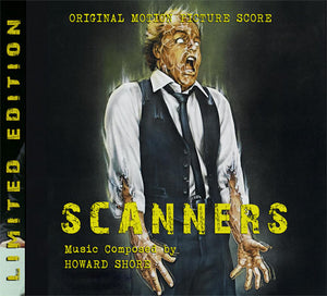 Scanners - Complete Score - Limited 1000 Copies - Howard Shore