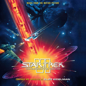 Star Trek VI Undiscovered Country - 2 x CD Complete Score - Limited Edition - Cliff Eidelman