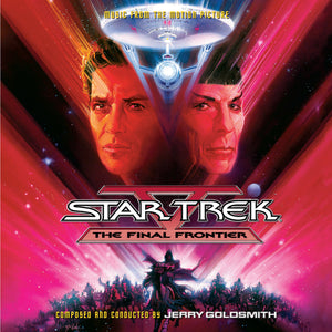Star Trek V The Final Frontier - 2 x CD Complete Score - LImited Edition - Jerry Goldsmith