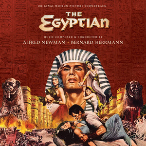 The Egyptian - 2CD Complete Score - Limited 1500 Copies - Bernard Herrmann / Alfred Newman