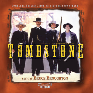 Tombstone - 2 x CD Expanded Score - Limited Edition - Bruce Broughton