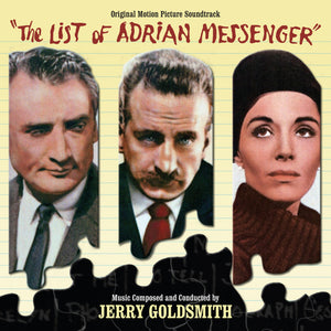 The List Of Adrian Messenger - Complete Score - Limited 3000 Copies - Jerry Goldsmith