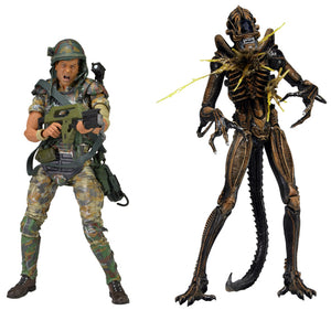 "Aliens - Hudson vs Warrior - 7"" Scale Figures  - NECA"