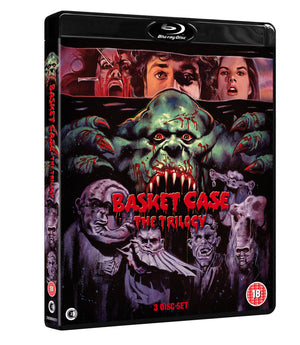 Basket Case The Trilogy - 3 Disc DVD - Special Edition - Frank Henenlotter