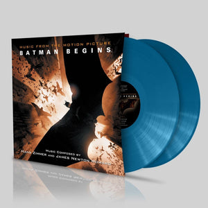 Batman Begins - 2 x Bhutan Blue Vinyl - Limited Edition - Hans Zimmer