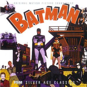 Batman - Complete Score  - Limited 3000 Copies - Nelson Riddle