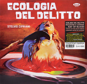 A Bay Of Blood - Complete Score - Hand Numbered 500 Copies - Stelvio Cipriani