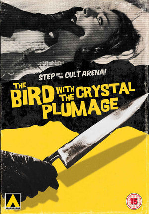 The Bird With The Crystal Plummage - DVD - Uncut - Region 2 - Dario Argento