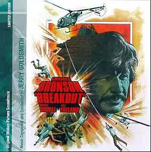 Breakout - Complete Score  - Jerry Goldsmith