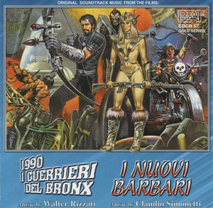 Bronx Warriors / New Barbarians - Expanded - Claudio Simonetti